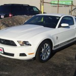 2010 Performance White Ford Mustang V6 Premium Coupe 26935230 Gtcarlot Com Car Color Galleries