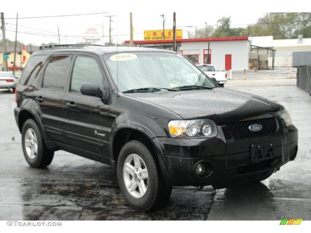 Escape Ford Black Hybrid