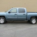 2009 Blue Granite Metallic Chevrolet Silverado 1500 Lt Z71 Crew Cab 4x4 28461501 Gtcarlot Com Car Color Galleries