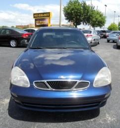 2000 nubira se sedan pacific blue mica gray photo 2 [ 1024 x 768 Pixel ]