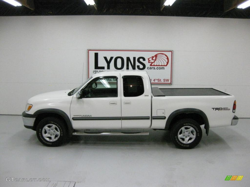 hight resolution of 2000 tundra sr5 trd extended cab 4x4 natural white oak photo 9
