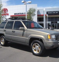 charcoal gold satin jeep grand cherokee 1996  [ 1024 x 768 Pixel ]