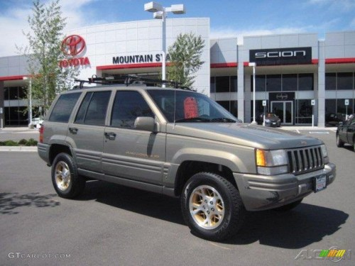 small resolution of charcoal gold satin jeep grand cherokee 1996