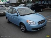 2009 Ice Blue Hyundai Accent GLS 4 Door #30036524 ...