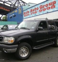 1999 black clearcoat ford explorer xlt 4x4 30432357 [ 1024 x 768 Pixel ]