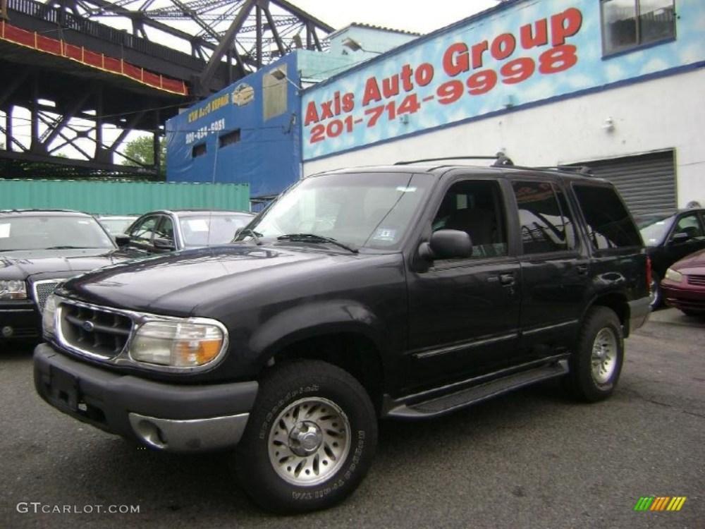 medium resolution of 1999 black clearcoat ford explorer xlt 4x4 30432357