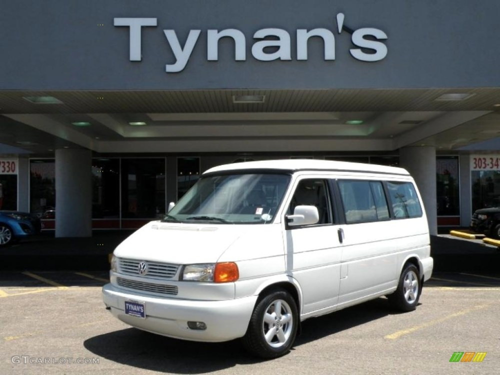medium resolution of 2001 arctic white volkswagen eurovan mv 30722681
