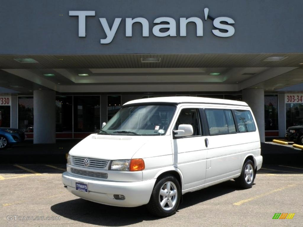 hight resolution of 2001 arctic white volkswagen eurovan mv 30722681
