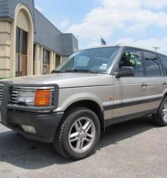 1999 range rover 4 6 hse white gold metallic saddle photo 3 [ 1024 x 768 Pixel ]