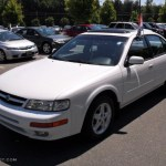 1997 Cloud White Nissan Maxima Gxe 32391618 Gtcarlot Com Car Color Galleries