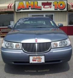 graphite blue metallic lincoln town car lincoln town car signature [ 1024 x 768 Pixel ]