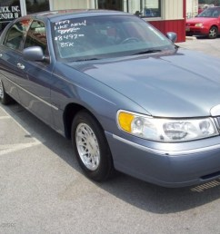 1999 graphite blue metallic lincoln town car signature 32681836 photo 9 [ 1024 x 768 Pixel ]