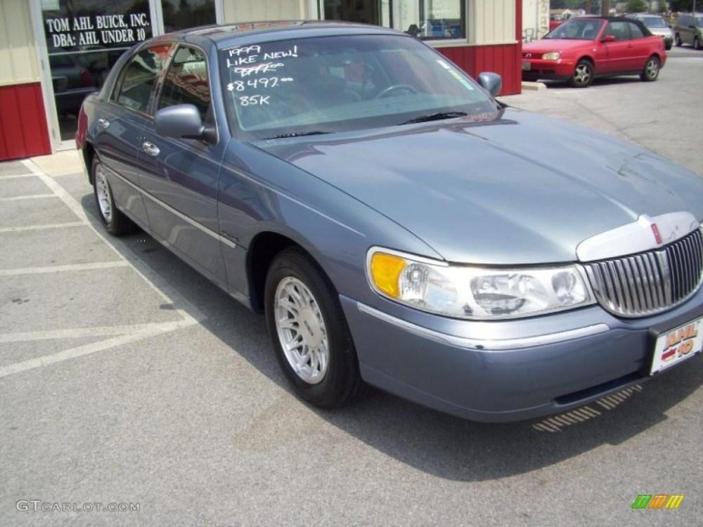 medium resolution of 1999 graphite blue metallic lincoln town car signature 32681836 photo 9