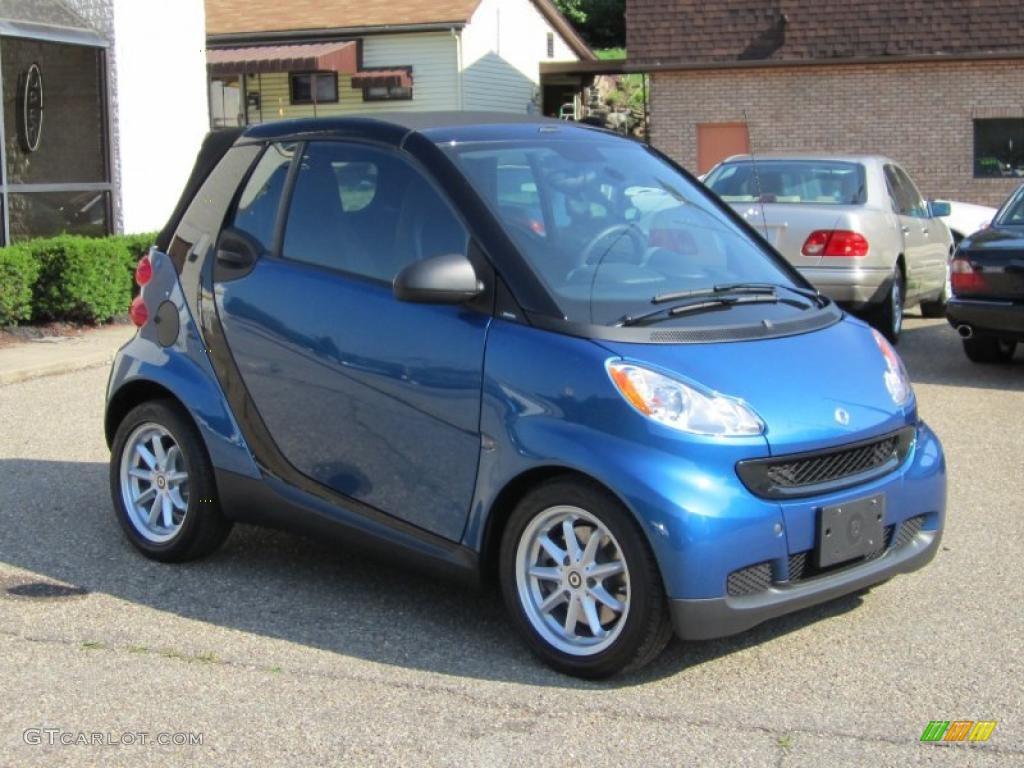 2008 blue metallic smart