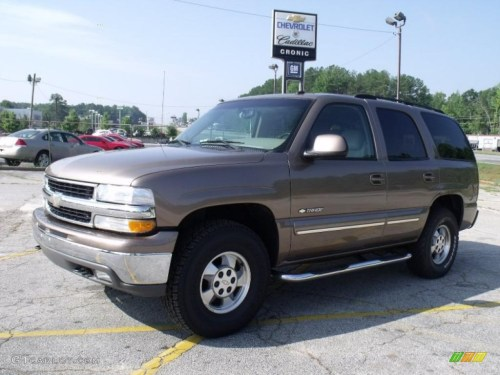 small resolution of 2003 tahoe lt 4x4 sandalwood metallic tan neutral photo 1