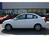 2010 Nordic White Hyundai Accent GLS 4 Door #33189407 ...