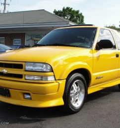 2003 blazer xtreme yellow medium gray photo 3 [ 1024 x 768 Pixel ]