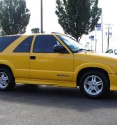 2003 blazer xtreme yellow medium gray photo 14 [ 1024 x 768 Pixel ]