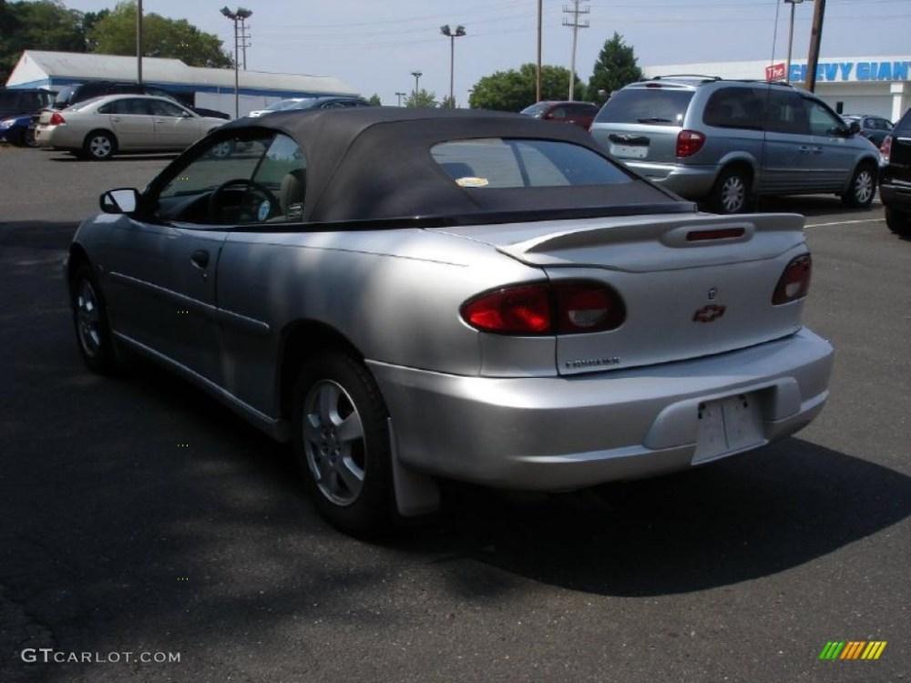 medium resolution of 2000 cavalier z24 convertible ultra silver metallic neutral photo 6