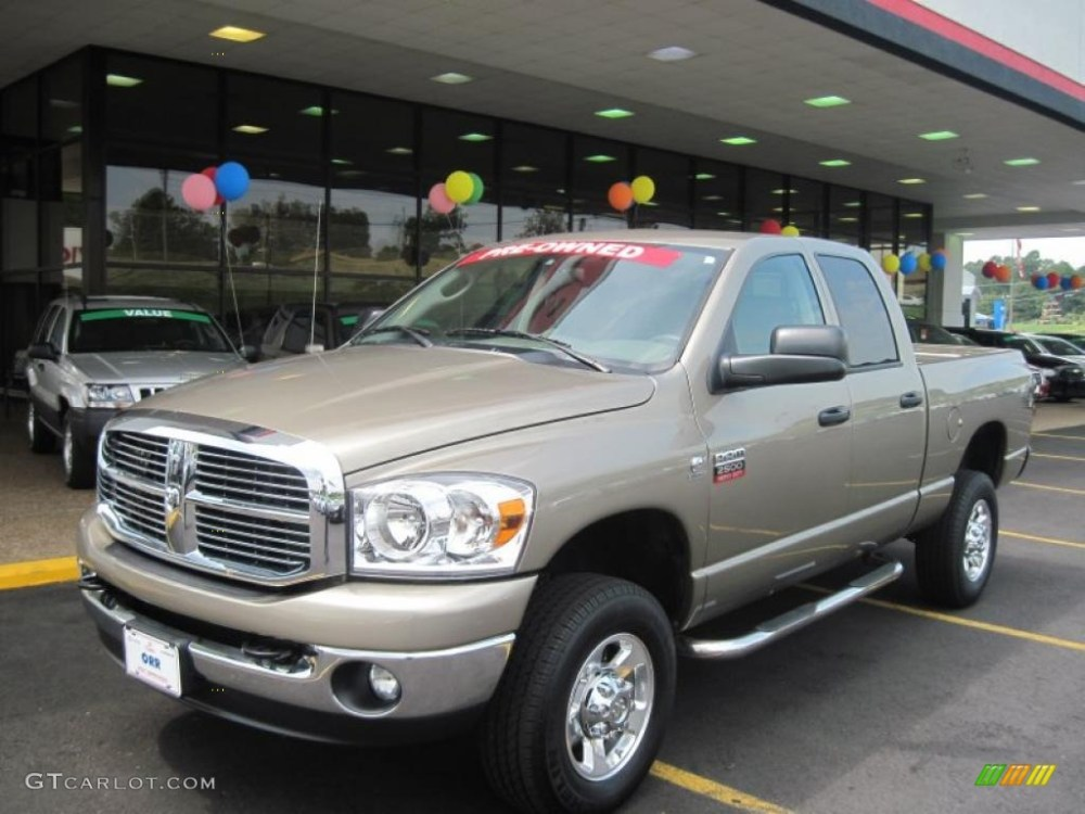 medium resolution of light khaki metallic dodge ram 2500