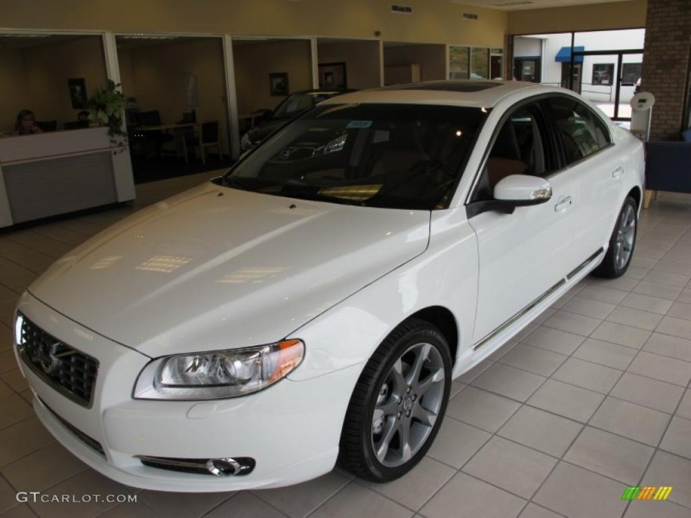medium resolution of 2011 ice white volvo s80 t6 awd inscription 36062777 photo 3