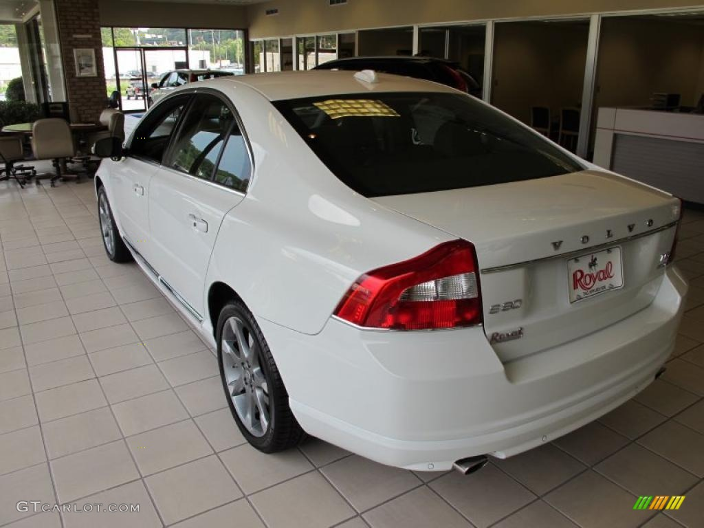 hight resolution of 2011 ice white volvo s80 t6 awd inscription 36062777 photo 4