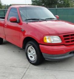 2001 f150 xl sport regular cab bright red medium graphite photo 1 [ 1024 x 768 Pixel ]
