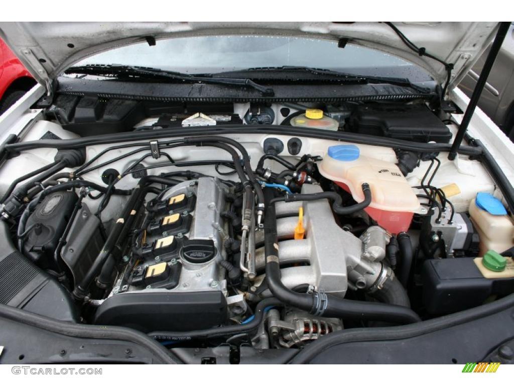 2003 audi a4 engine diagram ford puma stereo wiring 2000 volkswagen passat gls 1.8t sedan 1.8 liter turbocharged dohc 20-valve 4 cylinder ...