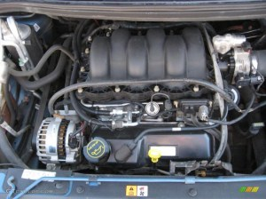 2003 Ford Windstar LX 38 Liter OHV 12 Valve V6 Engine
