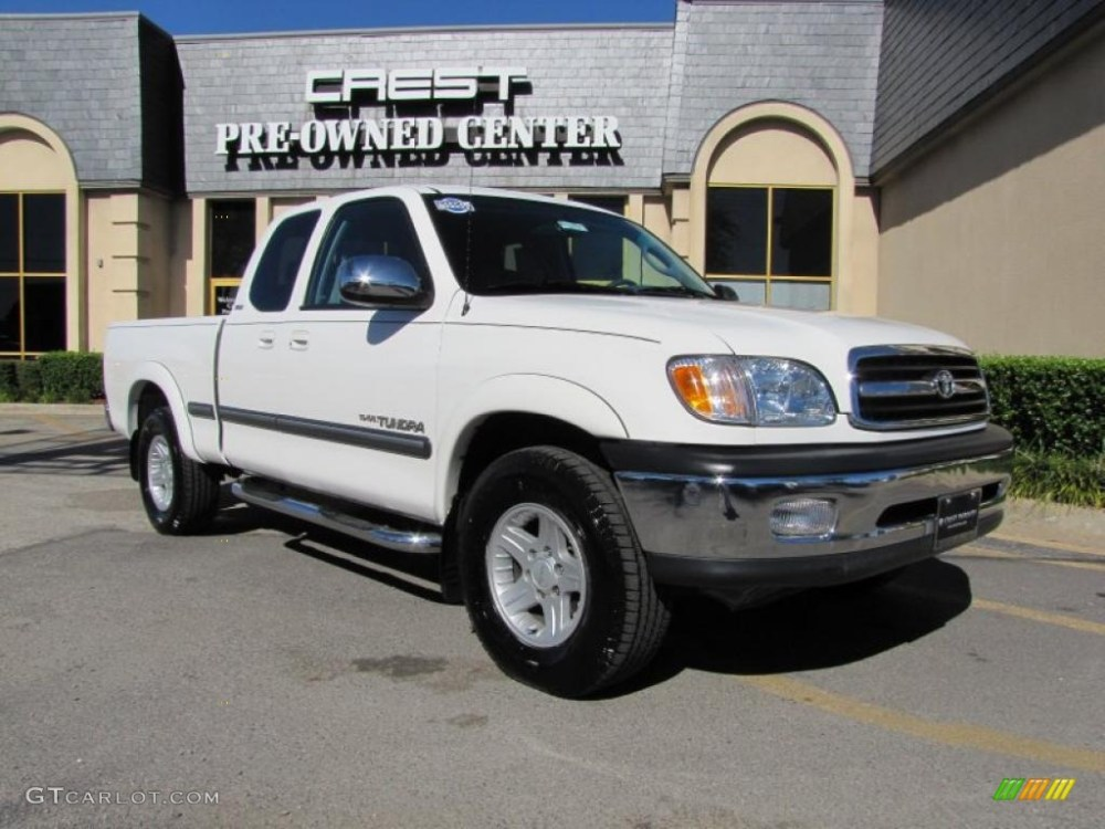 medium resolution of 2000 tundra sr5 extended cab natural white light charcoal photo 1