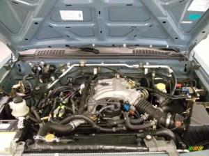 2001 Nissan Xterra XE V6 33 Liter SOHC 12Valve V6 Engine