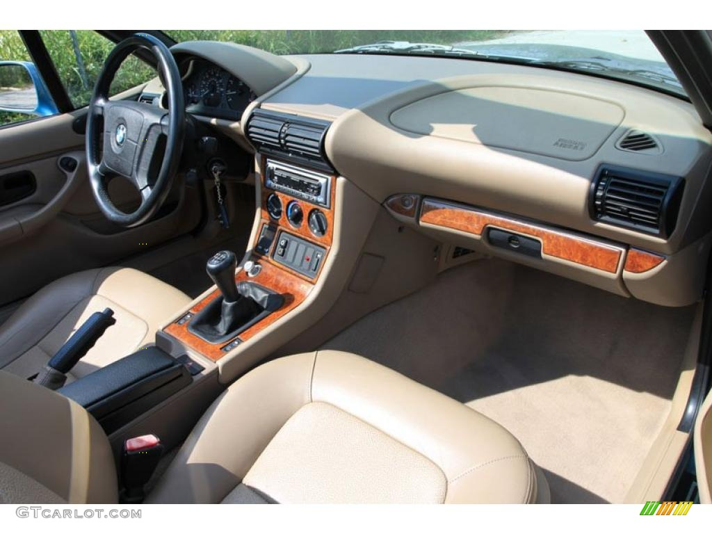 hight resolution of 1996 bmw z3 1 9 roadster tan dashboard photo 38052762
