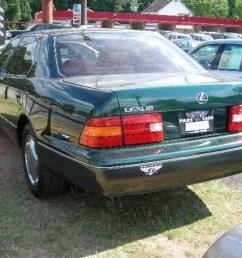 1998 dark green pearl lexus ls 400 38077260 photo 2 [ 1024 x 768 Pixel ]