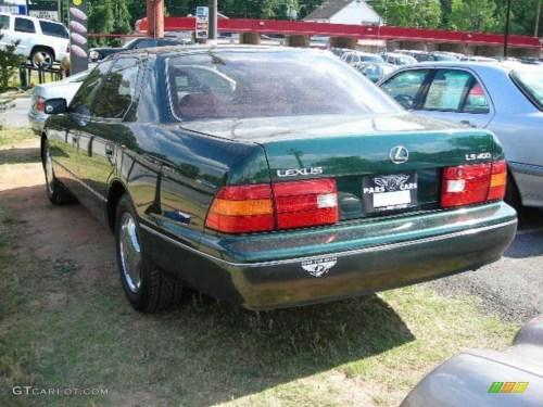 small resolution of 1998 dark green pearl lexus ls 400 38077260 photo 2