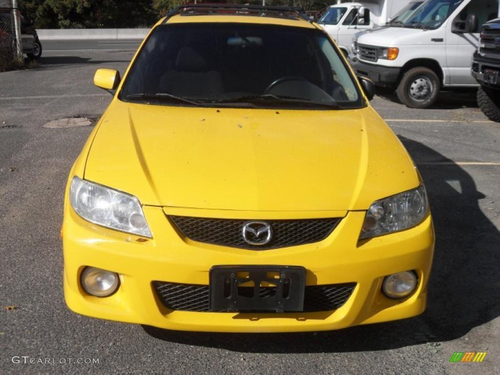 2003 Mazda Protege5 Customized Yellow