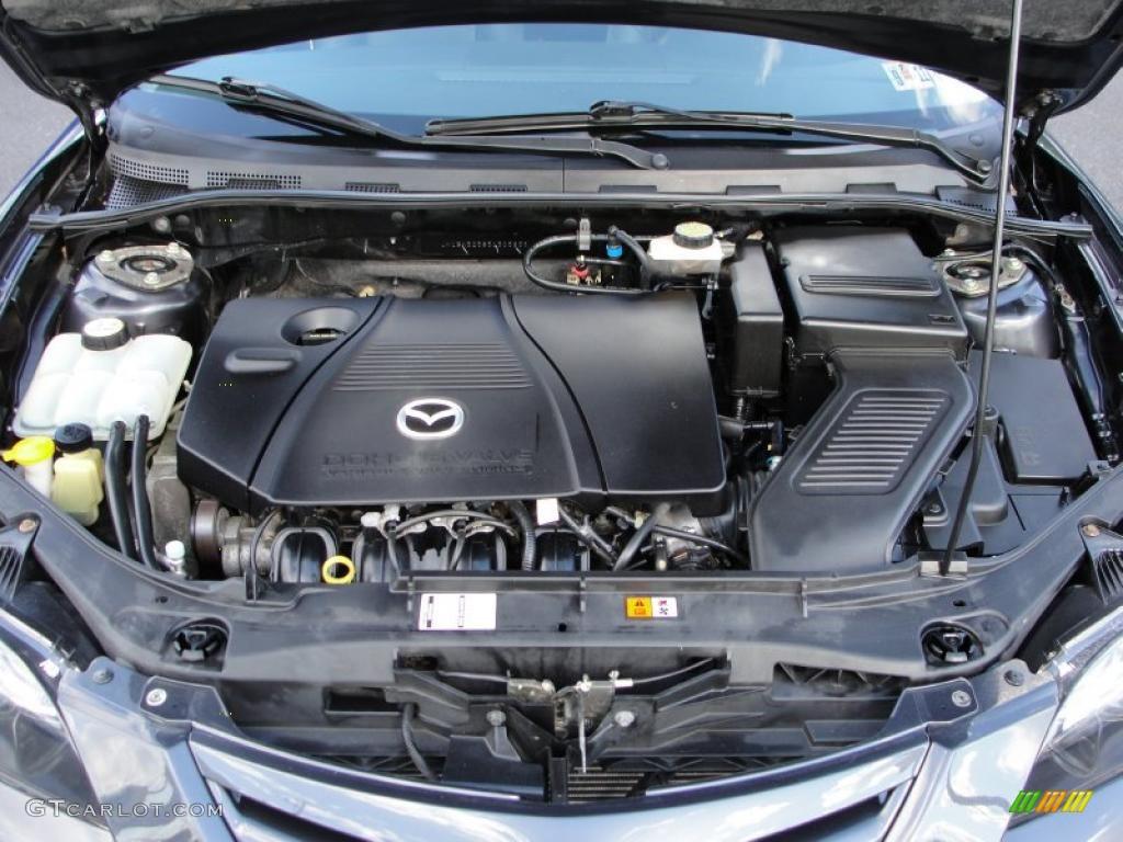 hight resolution of 2005 mazda mazda3 sp23 special edition sedan 2 3 liter dohc 16v vvt 4 cylinder engine photo