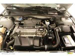 2004 Pontiac Sunfire Coupe 22L DOHC 16V Ecotec 4 Cylinder