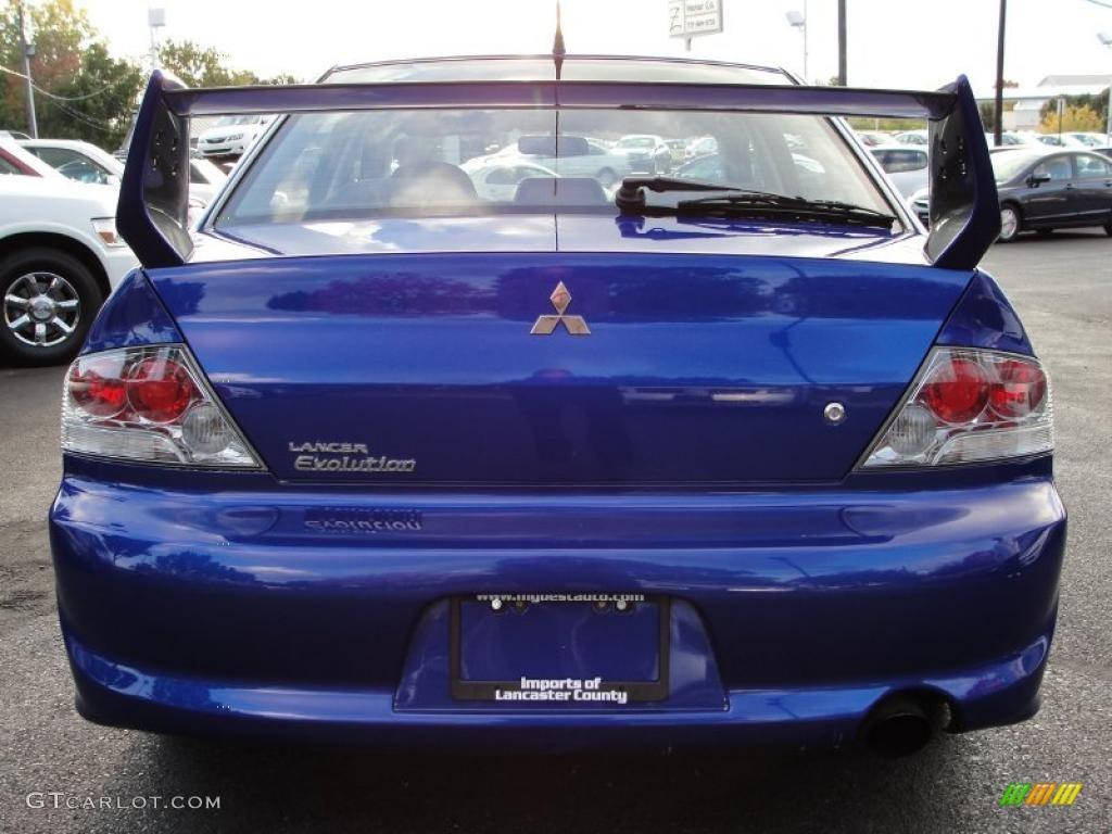 hight resolution of 2005 lancer evolution viii electric blue metallic black photo 5