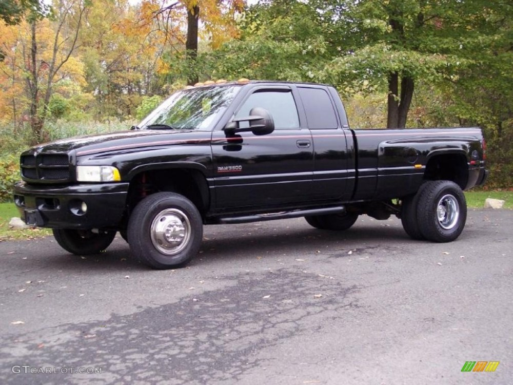 medium resolution of black dodge ram 3500