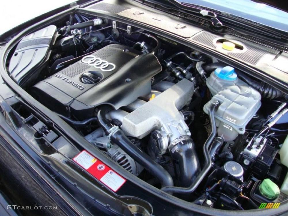 medium resolution of 2002 audi a4 1 8t quattro avant 1 8l turbocharged dohc 20v vw 1 8 turbo engine diagram 1 8t parts diagram