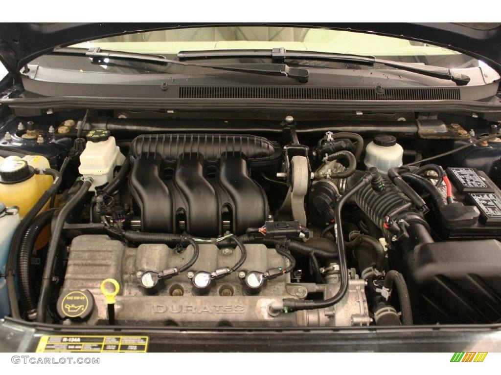 hight resolution of 2005 ford five hundred se 3 0l dohc 24v duratec v6 engine photo ford taurus engine