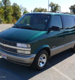 2001 astro passenger van dark forest green metallic pewter photo 1 [ 1024 x 768 Pixel ]