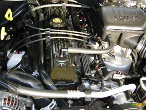 small resolution of 2002 jeep grand cherokee laredo 4 0 liter ohv 12 valve inline 6 cylinder engine photo