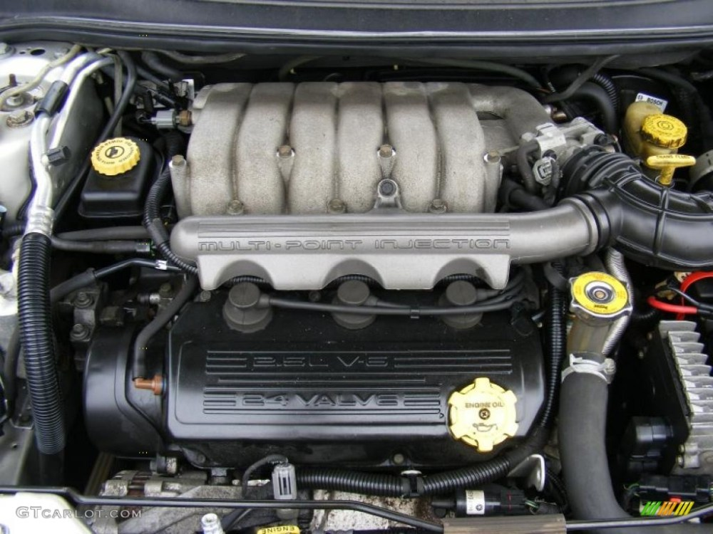 medium resolution of 2000 chrysler cirrus lxi 2 5 liter sohc 24 valve v6 engine photo 38784801