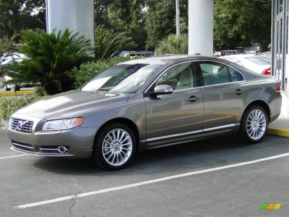 medium resolution of 2011 oyster grey metallic volvo s80 t6 awd 38795770