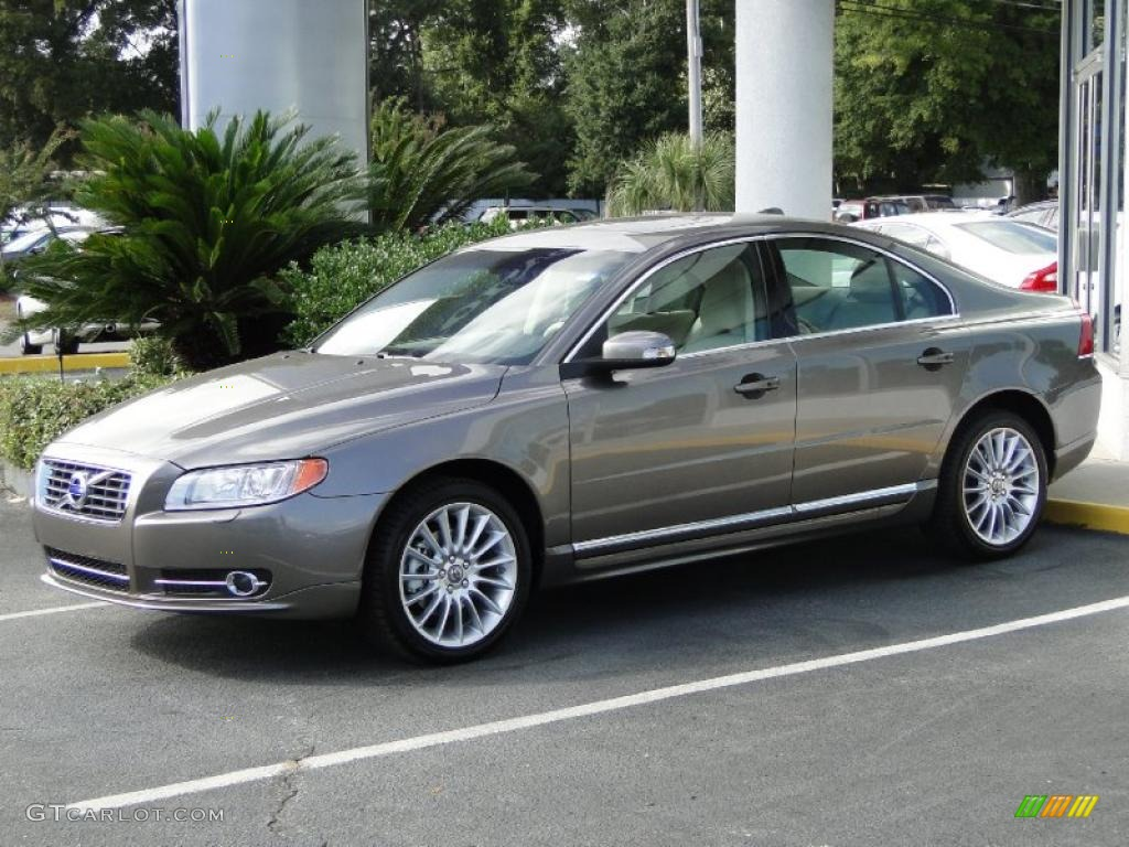 hight resolution of 2011 oyster grey metallic volvo s80 t6 awd 38795770