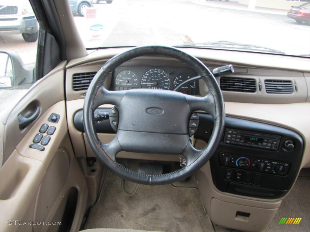 1998 Ford Windstar GL Medium Parchment Dashboard Photo