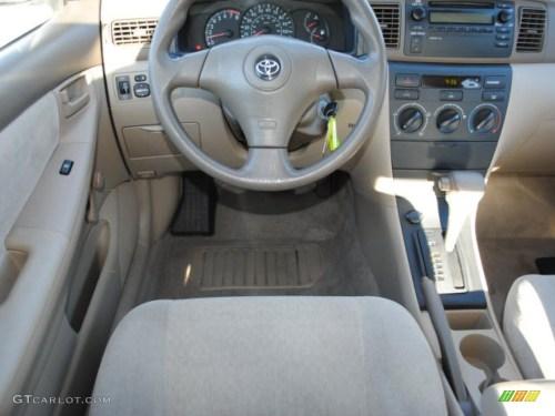 small resolution of 2004 toyota corolla ce interior photo 39052160