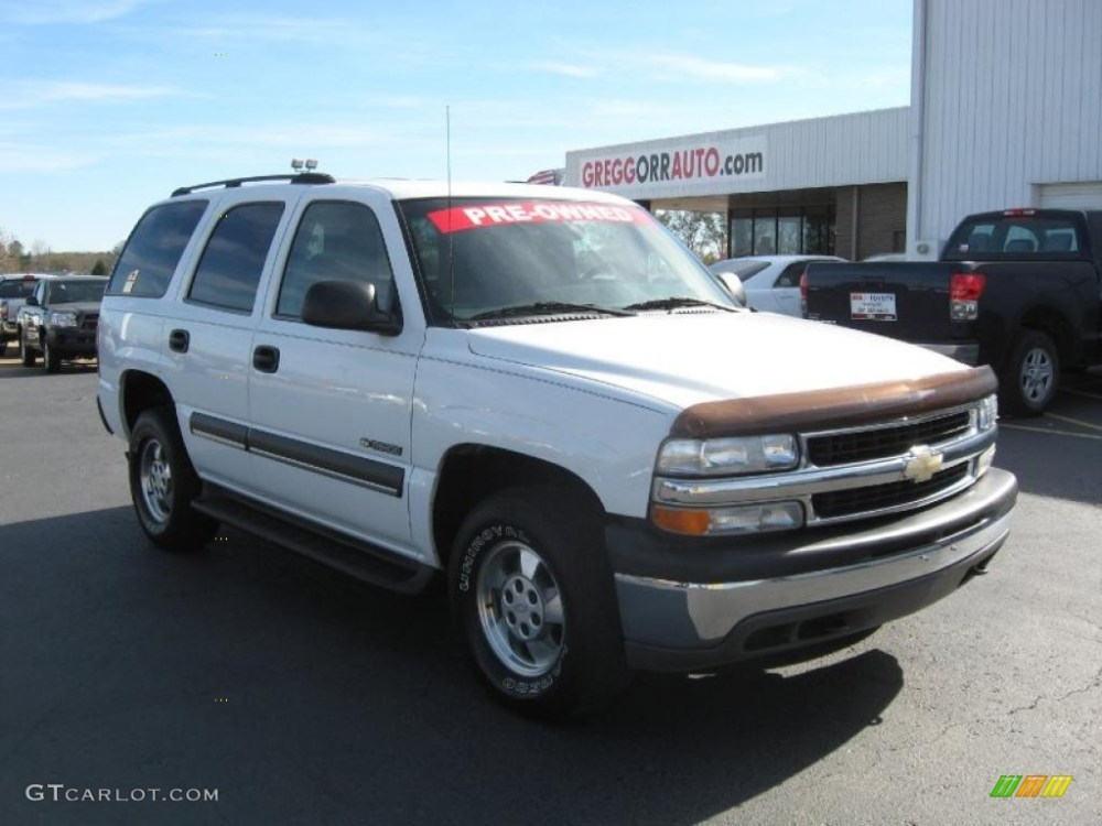 medium resolution of 2003 tahoe lt 4x4 summit white gray dark charcoal photo 1