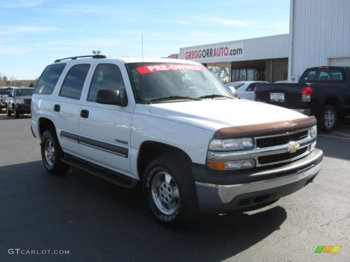 small resolution of 2003 tahoe lt 4x4 summit white gray dark charcoal photo 1